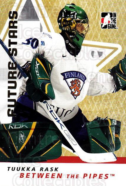 2006-07 Between The Pipes #50 Tuukka Rask<br/>4 In Stock - $1.00 each - <a href=https://centericecollectibles.foxycart.com/cart?name=2006-07%20Between%20The%20Pipes%20%2350%20Tuukka%20Rask...&price=$1.00&code=130253 class=foxycart> Buy it now! </a>