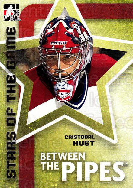 2006-07 Between The Pipes #59 Cristobal Huet<br/>6 In Stock - $1.00 each - <a href=https://centericecollectibles.foxycart.com/cart?name=2006-07%20Between%20The%20Pipes%20%2359%20Cristobal%20Huet...&price=$1.00&code=130262 class=foxycart> Buy it now! </a>