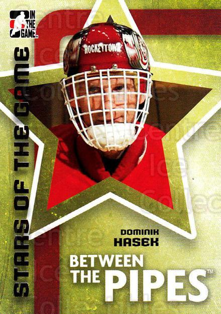 2006-07 Between The Pipes #61 Dominik Hasek<br/>5 In Stock - $1.00 each - <a href=https://centericecollectibles.foxycart.com/cart?name=2006-07%20Between%20The%20Pipes%20%2361%20Dominik%20Hasek...&price=$1.00&code=130265 class=foxycart> Buy it now! </a>