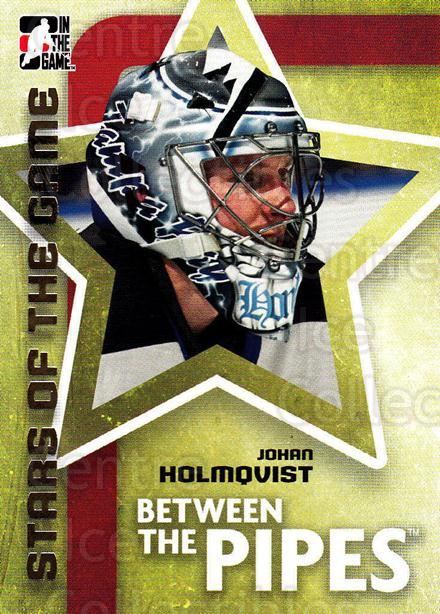 2006-07 Between The Pipes #66 Johan Holmqvist<br/>6 In Stock - $1.00 each - <a href=https://centericecollectibles.foxycart.com/cart?name=2006-07%20Between%20The%20Pipes%20%2366%20Johan%20Holmqvist...&price=$1.00&code=130270 class=foxycart> Buy it now! </a>