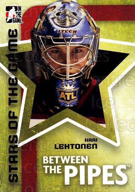 2006-07 Between The Pipes #67 Kari Lehtonen<br/>6 In Stock - $1.00 each - <a href=https://centericecollectibles.foxycart.com/cart?name=2006-07%20Between%20The%20Pipes%20%2367%20Kari%20Lehtonen...&price=$1.00&code=130271 class=foxycart> Buy it now! </a>