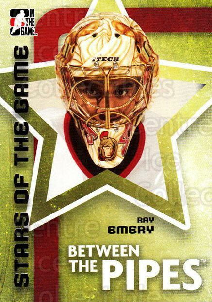 2006-07 Between The Pipes #73 Ray Emery<br/>6 In Stock - $1.00 each - <a href=https://centericecollectibles.foxycart.com/cart?name=2006-07%20Between%20The%20Pipes%20%2373%20Ray%20Emery...&price=$1.00&code=130277 class=foxycart> Buy it now! </a>