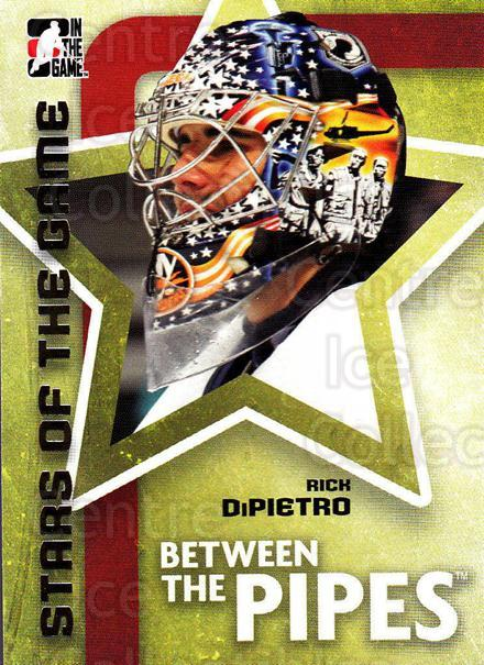 2006-07 Between The Pipes #74 Rick DiPietro<br/>6 In Stock - $1.00 each - <a href=https://centericecollectibles.foxycart.com/cart?name=2006-07%20Between%20The%20Pipes%20%2374%20Rick%20DiPietro...&price=$1.00&code=130278 class=foxycart> Buy it now! </a>