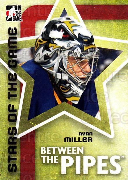 2006-07 Between The Pipes #76 Ryan Miller<br/>4 In Stock - $1.00 each - <a href=https://centericecollectibles.foxycart.com/cart?name=2006-07%20Between%20The%20Pipes%20%2376%20Ryan%20Miller...&price=$1.00&code=130280 class=foxycart> Buy it now! </a>