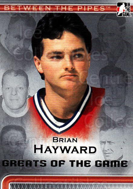 2006-07 Between The Pipes #81 Brian Hayward<br/>3 In Stock - $1.00 each - <a href=https://centericecollectibles.foxycart.com/cart?name=2006-07%20Between%20The%20Pipes%20%2381%20Brian%20Hayward...&price=$1.00&code=130286 class=foxycart> Buy it now! </a>
