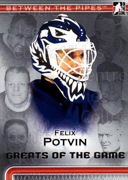2006-07 Between The Pipes #88 Felix Potvin<br/>5 In Stock - $1.00 each - <a href=https://centericecollectibles.foxycart.com/cart?name=2006-07%20Between%20The%20Pipes%20%2388%20Felix%20Potvin...&quantity_max=5&price=$1.00&code=130293 class=foxycart> Buy it now! </a>