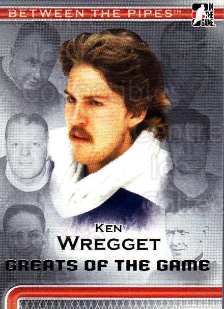 2006-07 Between The Pipes #96 Ken Wregget<br/>5 In Stock - $1.00 each - <a href=https://centericecollectibles.foxycart.com/cart?name=2006-07%20Between%20The%20Pipes%20%2396%20Ken%20Wregget...&price=$1.00&code=130302 class=foxycart> Buy it now! </a>