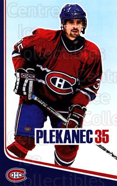 2006-07 Montreal Canadiens Postcards #17 Tomas Plekanec<br/>2 In Stock - $3.00 each - <a href=https://centericecollectibles.foxycart.com/cart?name=2006-07%20Montreal%20Canadiens%20Postcards%20%2317%20Tomas%20Plekanec...&quantity_max=2&price=$3.00&code=130517 class=foxycart> Buy it now! </a>