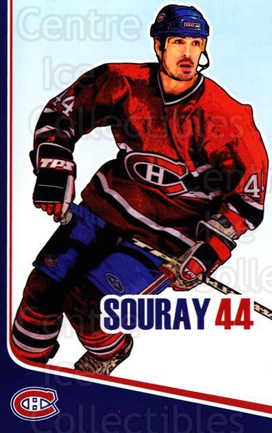 2006-07 Montreal Canadiens Postcards #21 Sheldon Souray<br/>1 In Stock - $3.00 each - <a href=https://centericecollectibles.foxycart.com/cart?name=2006-07%20Montreal%20Canadiens%20Postcards%20%2321%20Sheldon%20Souray...&quantity_max=1&price=$3.00&code=130521 class=foxycart> Buy it now! </a>