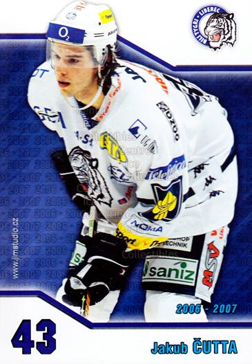 2006-07 Czech Bili Tygri Liberec Postcards #1 Jakub Cutta<br/>1 In Stock - $3.00 each - <a href=https://centericecollectibles.foxycart.com/cart?name=2006-07%20Czech%20Bili%20Tygri%20Liberec%20Postcards%20%231%20Jakub%20Cutta...&quantity_max=1&price=$3.00&code=130574 class=foxycart> Buy it now! </a>