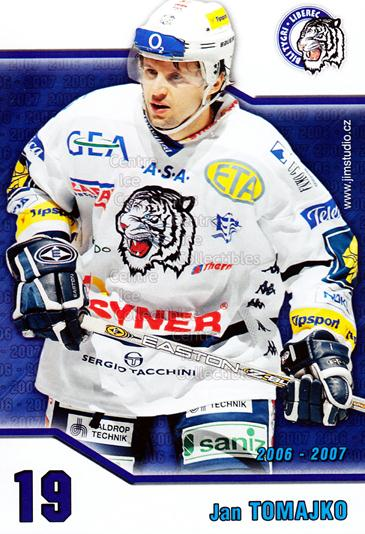 2006-07 Czech Bili Tygri Liberec Postcards #9 Jan Tomajko<br/>1 In Stock - $3.00 each - <a href=https://centericecollectibles.foxycart.com/cart?name=2006-07%20Czech%20Bili%20Tygri%20Liberec%20Postcards%20%239%20Jan%20Tomajko...&price=$3.00&code=130583 class=foxycart> Buy it now! </a>