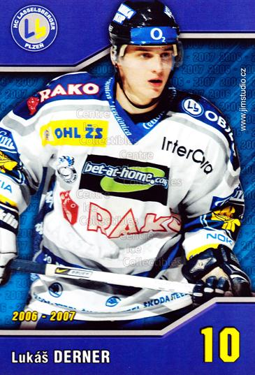 2006-07 Czech HC Plzen Postcards #3 Lukas Derner<br/>1 In Stock - $3.00 each - <a href=https://centericecollectibles.foxycart.com/cart?name=2006-07%20Czech%20HC%20Plzen%20Postcards%20%233%20Lukas%20Derner...&quantity_max=1&price=$3.00&code=130614 class=foxycart> Buy it now! </a>