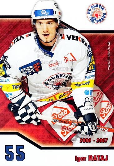 2006-07 Czech HC Slavia Praha Postcards #11 Igor Rataj<br/>1 In Stock - $3.00 each - <a href=https://centericecollectibles.foxycart.com/cart?name=2006-07%20Czech%20HC%20Slavia%20Praha%20Postcards%20%2311%20Igor%20Rataj...&price=$3.00&code=130620 class=foxycart> Buy it now! </a>