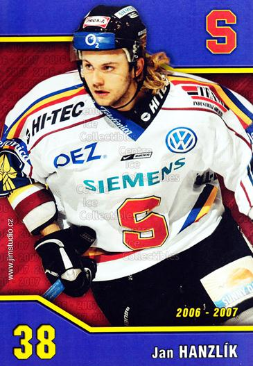 2006-07 Czech HC Sparta Praha Postcards #3 Jan Hanzlik<br/>1 In Stock - $3.00 each - <a href=https://centericecollectibles.foxycart.com/cart?name=2006-07%20Czech%20HC%20Sparta%20Praha%20Postcards%20%233%20Jan%20Hanzlik...&price=$3.00&code=130638 class=foxycart> Buy it now! </a>