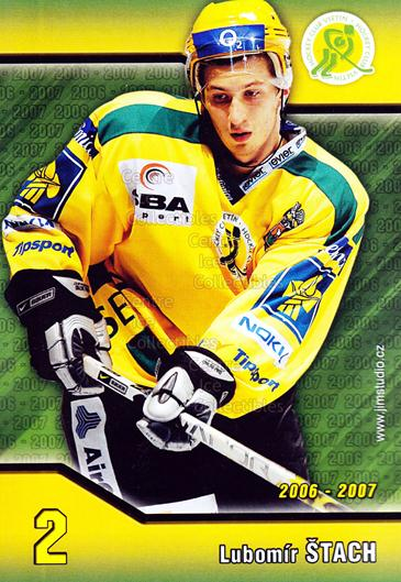 2006-07 Czech HC Vsetin Postcards #10 Lubomir Stach<br/>1 In Stock - $3.00 each - <a href=https://centericecollectibles.foxycart.com/cart?name=2006-07%20Czech%20HC%20Vsetin%20Postcards%20%2310%20Lubomir%20Stach...&quantity_max=1&price=$3.00&code=130649 class=foxycart> Buy it now! </a>