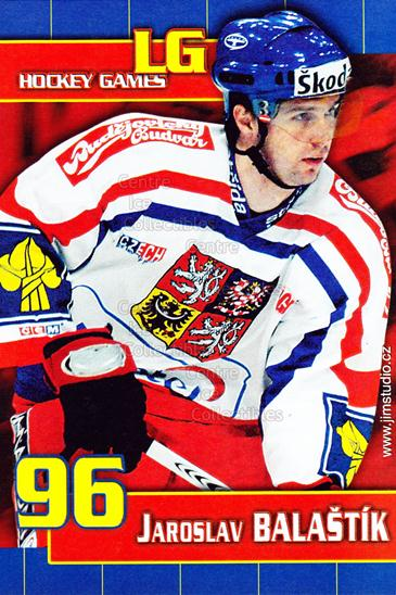2006-07 Czech LG Hockey Games Postcards #1 Jaroslav Balastik<br/>1 In Stock - $3.00 each - <a href=https://centericecollectibles.foxycart.com/cart?name=2006-07%20Czech%20LG%20Hockey%20Games%20Postcards%20%231%20Jaroslav%20Balast...&quantity_max=1&price=$3.00&code=130673 class=foxycart> Buy it now! </a>