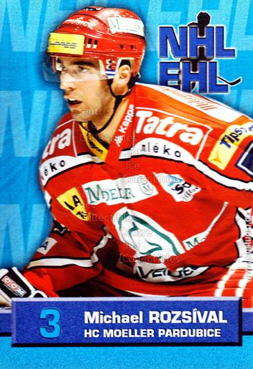 2006-07 Czech NHL ELH Postcards #9 Michal Rozsival<br/>2 In Stock - $3.00 each - <a href=https://centericecollectibles.foxycart.com/cart?name=2006-07%20Czech%20NHL%20ELH%20Postcards%20%239%20Michal%20Rozsival...&quantity_max=2&price=$3.00&code=130694 class=foxycart> Buy it now! </a>
