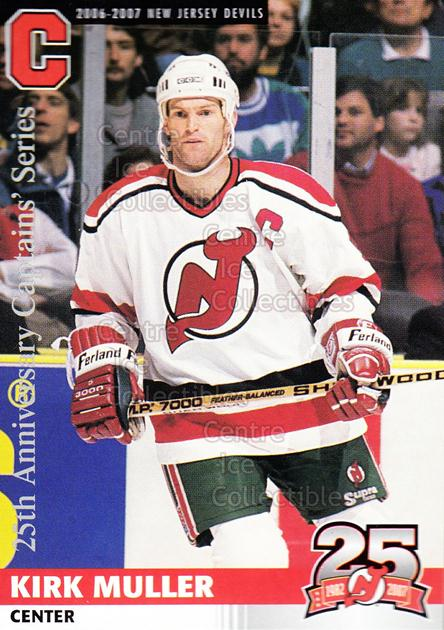 2006-07 New Jersey Devils Team Issue #37 Kirk Muller<br/>8 In Stock - $3.00 each - <a href=https://centericecollectibles.foxycart.com/cart?name=2006-07%20New%20Jersey%20Devils%20Team%20Issue%20%2337%20Kirk%20Muller...&quantity_max=8&price=$3.00&code=130844 class=foxycart> Buy it now! </a>