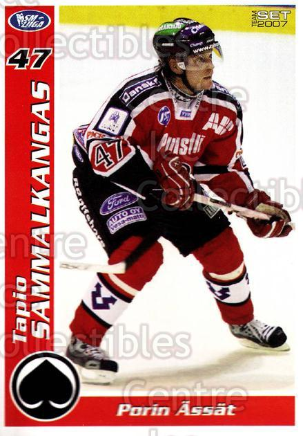 2006-07 Finnish Porin Assat Pelaajakortit #13 Tapio Sammalkangas<br/>7 In Stock - $3.00 each - <a href=https://centericecollectibles.foxycart.com/cart?name=2006-07%20Finnish%20Porin%20Assat%20Pelaajakortit%20%2313%20Tapio%20Sammalkan...&quantity_max=7&price=$3.00&code=131032 class=foxycart> Buy it now! </a>