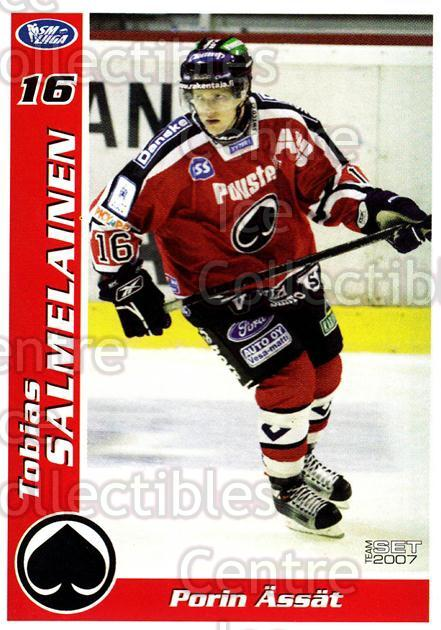 2006-07 Finnish Porin Assat Pelaajakortit #30 Tobias Salmelainen<br/>7 In Stock - $3.00 each - <a href=https://centericecollectibles.foxycart.com/cart?name=2006-07%20Finnish%20Porin%20Assat%20Pelaajakortit%20%2330%20Tobias%20Salmelai...&quantity_max=7&price=$3.00&code=131051 class=foxycart> Buy it now! </a>