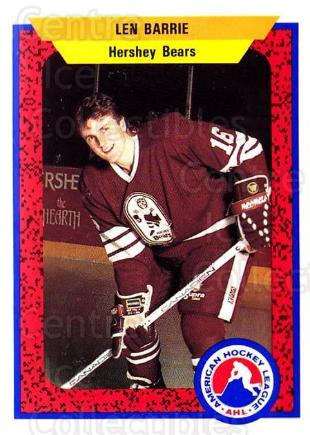 1991-92 ProCards AHL IHL #274 Len Barrie<br/>6 In Stock - $2.00 each - <a href=https://centericecollectibles.foxycart.com/cart?name=1991-92%20ProCards%20AHL%20IHL%20%23274%20Len%20Barrie...&quantity_max=6&price=$2.00&code=13111 class=foxycart> Buy it now! </a>