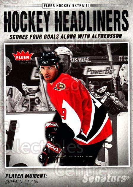 2006-07 Fleer Hockey Headliners #18 Martin Havlat<br/>6 In Stock - $2.00 each - <a href=https://centericecollectibles.foxycart.com/cart?name=2006-07%20Fleer%20Hockey%20Headliners%20%2318%20Martin%20Havlat...&quantity_max=6&price=$2.00&code=131214 class=foxycart> Buy it now! </a>