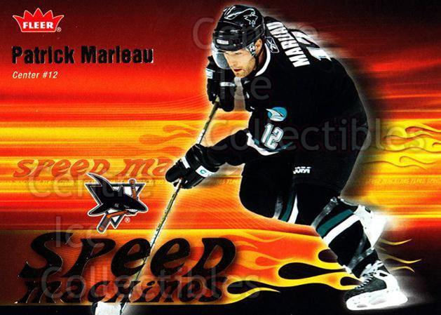 2006-07 Fleer Speed Machines #21 Patrick Marleau<br/>3 In Stock - $2.00 each - <a href=https://centericecollectibles.foxycart.com/cart?name=2006-07%20Fleer%20Speed%20Machines%20%2321%20Patrick%20Marleau...&quantity_max=3&price=$2.00&code=131247 class=foxycart> Buy it now! </a>