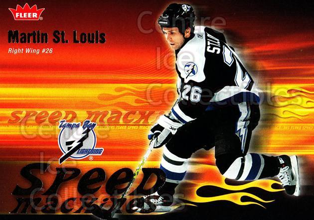 2006-07 Fleer Speed Machines #22 Martin St. Louis<br/>4 In Stock - $2.00 each - <a href=https://centericecollectibles.foxycart.com/cart?name=2006-07%20Fleer%20Speed%20Machines%20%2322%20Martin%20St.%20Loui...&quantity_max=4&price=$2.00&code=131248 class=foxycart> Buy it now! </a>