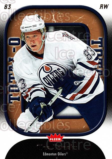 2006-07 Fleer Total O #10 Ales Hemsky<br/>2 In Stock - $2.00 each - <a href=https://centericecollectibles.foxycart.com/cart?name=2006-07%20Fleer%20Total%20O%20%2310%20Ales%20Hemsky...&quantity_max=2&price=$2.00&code=131257 class=foxycart> Buy it now! </a>
