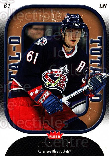 2006-07 Fleer Total O #6 Rick Nash<br/>2 In Stock - $2.00 each - <a href=https://centericecollectibles.foxycart.com/cart?name=2006-07%20Fleer%20Total%20O%20%236%20Rick%20Nash...&quantity_max=2&price=$2.00&code=131271 class=foxycart> Buy it now! </a>