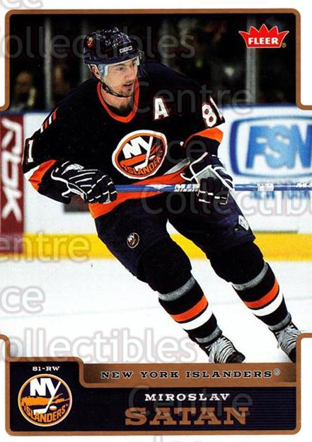 2006-07 Fleer #124 Miroslav Satan<br/>5 In Stock - $1.00 each - <a href=https://centericecollectibles.foxycart.com/cart?name=2006-07%20Fleer%20%23124%20Miroslav%20Satan...&quantity_max=5&price=$1.00&code=131301 class=foxycart> Buy it now! </a>