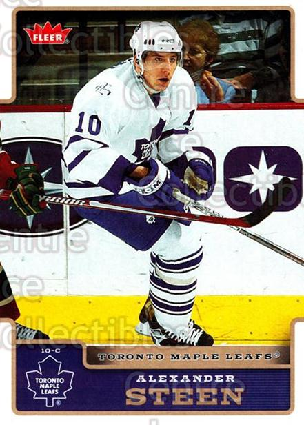 2006-07 Fleer #183 Alexander Steen<br/>4 In Stock - $1.00 each - <a href=https://centericecollectibles.foxycart.com/cart?name=2006-07%20Fleer%20%23183%20Alexander%20Steen...&quantity_max=4&price=$1.00&code=131365 class=foxycart> Buy it now! </a>