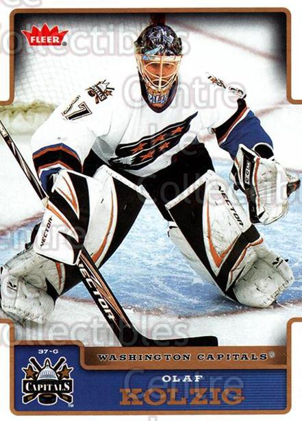 2006-07 Fleer #196 Olaf Kolzig<br/>5 In Stock - $1.00 each - <a href=https://centericecollectibles.foxycart.com/cart?name=2006-07%20Fleer%20%23196%20Olaf%20Kolzig...&quantity_max=5&price=$1.00&code=131378 class=foxycart> Buy it now! </a>
