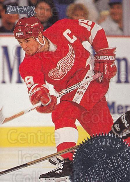 1994-95 Donruss #1 Steve Yzerman<br/>2 In Stock - $1.00 each - <a href=https://centericecollectibles.foxycart.com/cart?name=1994-95%20Donruss%20%231%20Steve%20Yzerman...&price=$1.00&code=1314 class=foxycart> Buy it now! </a>