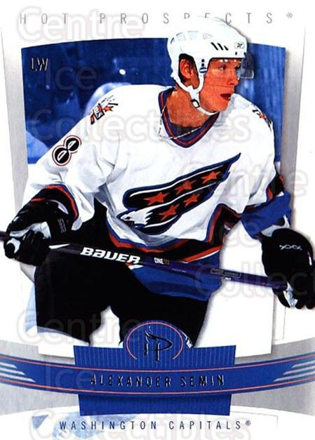 2006-07 Hot Prospects #100 Alexander Semin<br/>4 In Stock - $1.00 each - <a href=https://centericecollectibles.foxycart.com/cart?name=2006-07%20Hot%20Prospects%20%23100%20Alexander%20Semin...&quantity_max=4&price=$1.00&code=131622 class=foxycart> Buy it now! </a>