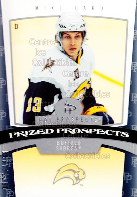 2006-07 Hot Prospects #147 Mike Card<br/>1 In Stock - $3.00 each - <a href=https://centericecollectibles.foxycart.com/cart?name=2006-07%20Hot%20Prospects%20%23147%20Mike%20Card...&quantity_max=1&price=$3.00&code=131630 class=foxycart> Buy it now! </a>