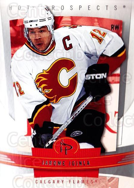 2006-07 Hot Prospects #15 Jarome Iginla<br/>3 In Stock - $1.00 each - <a href=https://centericecollectibles.foxycart.com/cart?name=2006-07%20Hot%20Prospects%20%2315%20Jarome%20Iginla...&quantity_max=3&price=$1.00&code=131633 class=foxycart> Buy it now! </a>