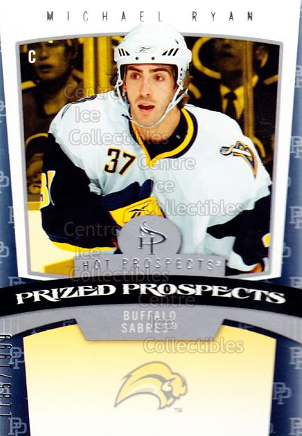 2006-07 Hot Prospects #150 Mike Ryan<br/>2 In Stock - $3.00 each - <a href=https://centericecollectibles.foxycart.com/cart?name=2006-07%20Hot%20Prospects%20%23150%20Mike%20Ryan...&quantity_max=2&price=$3.00&code=131634 class=foxycart> Buy it now! </a>