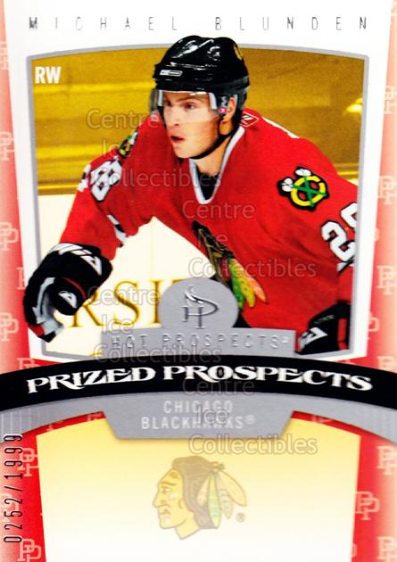 2006-07 Hot Prospects #153 Michael Blunden<br/>5 In Stock - $3.00 each - <a href=https://centericecollectibles.foxycart.com/cart?name=2006-07%20Hot%20Prospects%20%23153%20Michael%20Blunden...&quantity_max=5&price=$3.00&code=131637 class=foxycart> Buy it now! </a>
