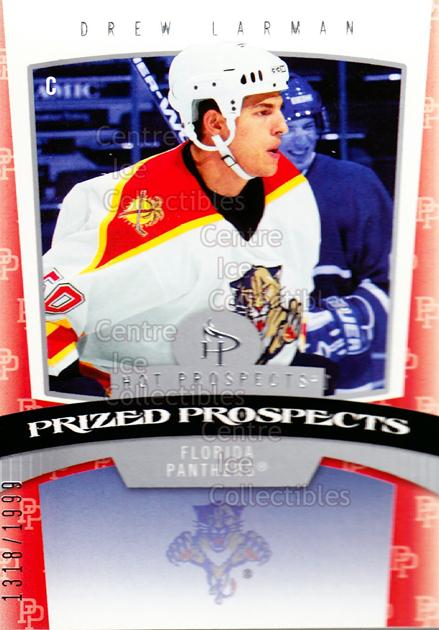 2006-07 Hot Prospects #159 Drew Larman<br/>3 In Stock - $3.00 each - <a href=https://centericecollectibles.foxycart.com/cart?name=2006-07%20Hot%20Prospects%20%23159%20Drew%20Larman...&quantity_max=3&price=$3.00&code=131643 class=foxycart> Buy it now! </a>