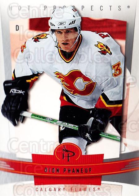 2006-07 Hot Prospects #16 Dion Phaneuf<br/>5 In Stock - $1.00 each - <a href=https://centericecollectibles.foxycart.com/cart?name=2006-07%20Hot%20Prospects%20%2316%20Dion%20Phaneuf...&quantity_max=5&price=$1.00&code=131644 class=foxycart> Buy it now! </a>