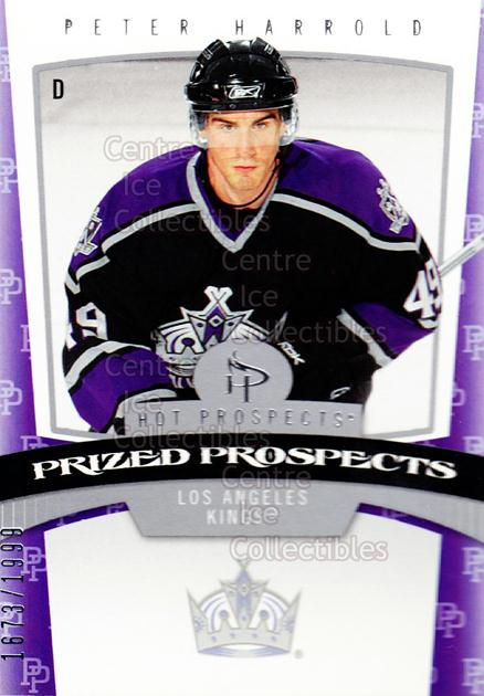 2006-07 Hot Prospects #162 Peter Harrold<br/>6 In Stock - $3.00 each - <a href=https://centericecollectibles.foxycart.com/cart?name=2006-07%20Hot%20Prospects%20%23162%20Peter%20Harrold...&quantity_max=6&price=$3.00&code=131646 class=foxycart> Buy it now! </a>