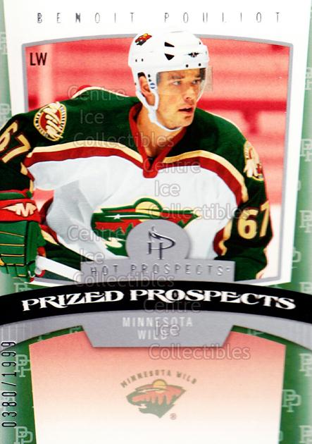 2006-07 Hot Prospects #163 Benoit Pouliot<br/>2 In Stock - $3.00 each - <a href=https://centericecollectibles.foxycart.com/cart?name=2006-07%20Hot%20Prospects%20%23163%20Benoit%20Pouliot...&quantity_max=2&price=$3.00&code=131647 class=foxycart> Buy it now! </a>