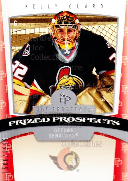 2006-07 Hot Prospects #169 Kelly Guard<br/>1 In Stock - $3.00 each - <a href=https://centericecollectibles.foxycart.com/cart?name=2006-07%20Hot%20Prospects%20%23169%20Kelly%20Guard...&quantity_max=1&price=$3.00&code=131652 class=foxycart> Buy it now! </a>