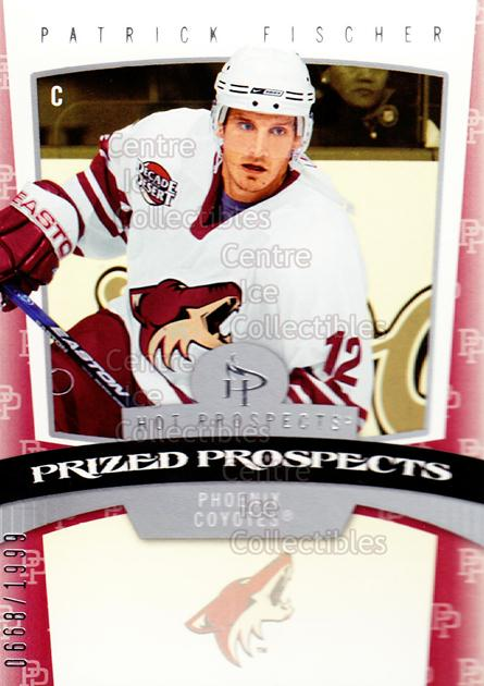 2006-07 Hot Prospects #175 Patrick Fischer<br/>2 In Stock - $3.00 each - <a href=https://centericecollectibles.foxycart.com/cart?name=2006-07%20Hot%20Prospects%20%23175%20Patrick%20Fischer...&quantity_max=2&price=$3.00&code=131658 class=foxycart> Buy it now! </a>