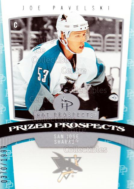 2006-07 Hot Prospects #176 Joe Pavelski<br/>1 In Stock - $10.00 each - <a href=https://centericecollectibles.foxycart.com/cart?name=2006-07%20Hot%20Prospects%20%23176%20Joe%20Pavelski...&quantity_max=1&price=$10.00&code=131659 class=foxycart> Buy it now! </a>