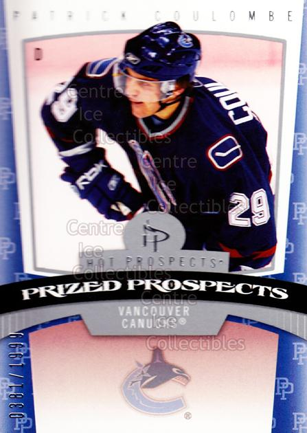 2006-07 Hot Prospects #183 Patrick Coulombe<br/>2 In Stock - $3.00 each - <a href=https://centericecollectibles.foxycart.com/cart?name=2006-07%20Hot%20Prospects%20%23183%20Patrick%20Coulomb...&quantity_max=2&price=$3.00&code=131666 class=foxycart> Buy it now! </a>