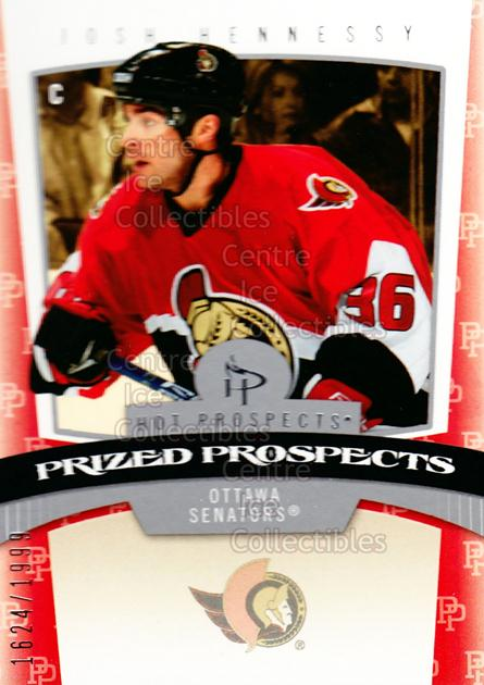2006-07 Hot Prospects #199 Josh Hennessy<br/>2 In Stock - $3.00 each - <a href=https://centericecollectibles.foxycart.com/cart?name=2006-07%20Hot%20Prospects%20%23199%20Josh%20Hennessy...&quantity_max=2&price=$3.00&code=131675 class=foxycart> Buy it now! </a>