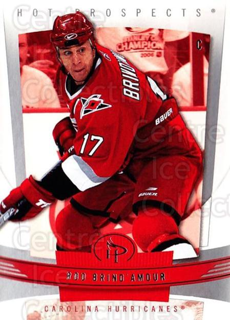 2006-07 Hot Prospects #21 Rod Brind'Amour<br/>4 In Stock - $1.00 each - <a href=https://centericecollectibles.foxycart.com/cart?name=2006-07%20Hot%20Prospects%20%2321%20Rod%20Brind'Amour...&quantity_max=4&price=$1.00&code=131681 class=foxycart> Buy it now! </a>