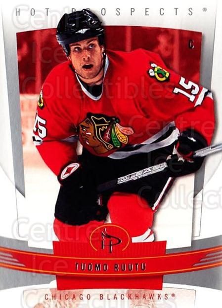 2006-07 Hot Prospects #22 Tuomo Ruutu<br/>6 In Stock - $1.00 each - <a href=https://centericecollectibles.foxycart.com/cart?name=2006-07%20Hot%20Prospects%20%2322%20Tuomo%20Ruutu...&quantity_max=6&price=$1.00&code=131682 class=foxycart> Buy it now! </a>